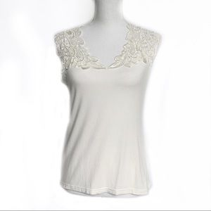 Arianne Lace and Jersey Tank